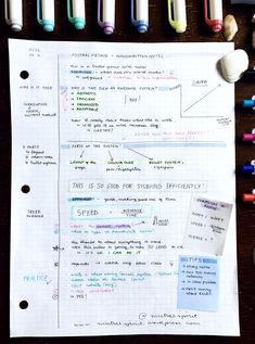 Mistral method series: efficient, adaptable, organized & aesthetic note- taking – mistral spirit School Organization Notes, School Notes, Organization Ideas, School Stuff, Good Study Habits, Study Tips, Pretty Notes, Good Notes, School Motivation