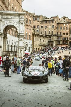 Jaguar Celebrates Another Successful Mille Miglia