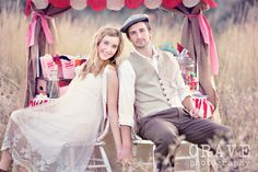 Crave Photography is amazing - love the kissing booth idea!