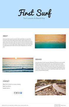 New Google Sites Example