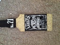 The paddle I made for my roommates 21