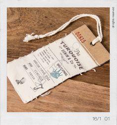 Collezione Indako 16/1 #newcollection #hangtag #cartellini #turquoise #labeltexgroup