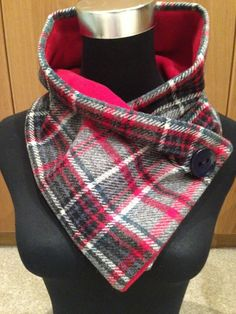 Pure new wool structured scarf. £18.00