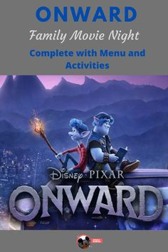 Make your own Onward family movie night at your house (see post for plot synopsis) with these snack and activity suggestions. Dinner And A Movie, Be With You Movie, Family Movie Night, Family Movies, New Movies, Disney Movies, Movies To Watch, Disney Movie Nights, Pixar Movies