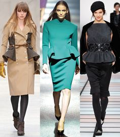 Basques - 20 fashion trends for Autumn-Winter 2012-2013