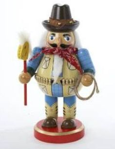 This Christmas Chubby Cowboy Nutcracker is a perfect gift for your favorite…