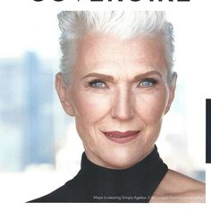 Thank you to everyone who has complimented me on my ad. After 50 years of pounding the pavement, I have achieved what many models wish for. Beauty Body, Hair, Older Beauty, Beauty, Anti Aging Beauty, Ageless Beauty, Maye Musk, Hair Styles, Musk