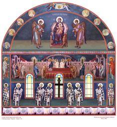 Raphael Angel, Archangel Raphael, Byzantine Icons, Byzantine Art, Church Interior, Peter Paul Rubens, Religious Images, Architecture Tattoo, Albrecht Durer