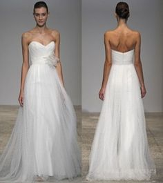 A-Line Sweetheart Long Organza Wedding Dress Cheap Bridal Dresses, Wholesale Wedding Dresses, Wedding Dresses 2014, Formal Dresses, Sweetheart Wedding Dress, One Shoulder Wedding Dress, I Carry Your Heart, Wedding Bells, Ball Gowns