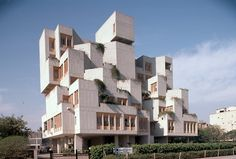 National Dairy Development Board Office Building (1985) in Delhi, India, by Achyut Kanvinde