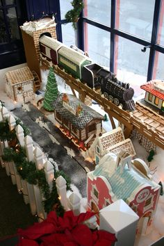 2010 Gingerbread Village