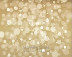 Bokeh Backdrop, Brown Sepia, Christmas Digital Backdrop, Baby Children Photography Background, Blurry Lights