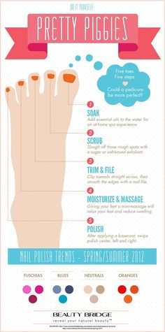 how to do a pedicure tutorial