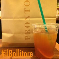 Best take out iced #tea in Osaka: @ Pronto … amazing breakfast with an Italian style croassant!