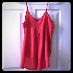 Coral top Cute coral top Tops Blouses