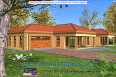 Overall Dimensions- x m Bedrooms- 2 Car Garage Area- Square meters 4 Bedroom House Plans, House Floor Plans, Single Storey House Plans, Architectural Floor Plans, Building Costs, Site Plans, Garage Plans, Ground Floor, Beautiful Homes