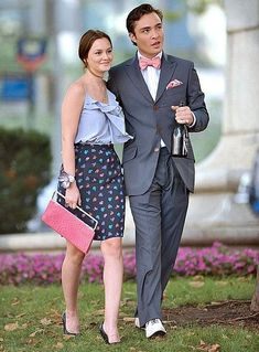 23 Times Chuck & Blair Were the Best-Dressed Couple EVER | http://www.hercampus.com/style/23-times-chuck-blair-were-best-dressed-couple-ever | Gossip Girl