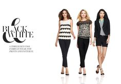 Get styled in Ann Taylor's latest Must-Have Looks: Black & White #AnnTaylor