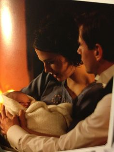 SYBIL AND BRANSON AND BABY BRANSON OH MY WORD I CANNOT FIND THE WORDS TO SAY HOW I FEEL!!!!! #downtonabbey