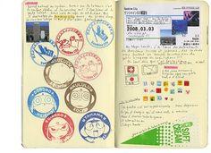 Japan's sketchbooks par Isabelle Boinot