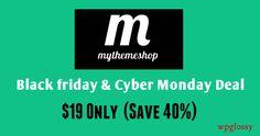 MyThemeShop Black Friday & Cyber Monday Discount