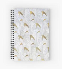 Retro - Geometric Pattern | Spiral Notebook