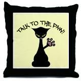 Talk to the paw. Cat. This is how my female cat acts most of the time! Tabby is a talk to the paw cat!