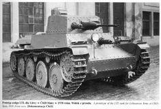 Planned Lithuanian LTL tank