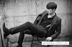SHINHWA 13TH UNCHANGING - TOUCH CONCEPT PHOTO - Minwoo