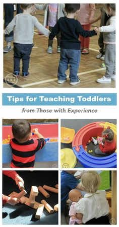 For all you new toddler teachers, here are some tips from experienced teachers. From Teaching 2 and 3 Year Olds