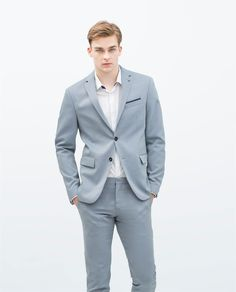 DARK BLUE SUIT-Suits-MAN | ZARA United States | Summer Wedding ...