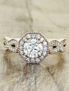 100 Antique And Unique Vintage Engagement Rings (183)