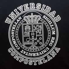 New Collection Spring/Summer 2013. Unisex T-shirt University of Santiago. 100% cotton. Souvenir of The Way of St.James. Tax free $14.900