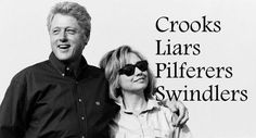 Essence of the Clinton Crime Family Factory.