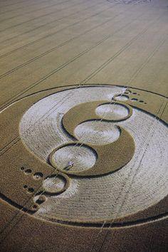 sola-mai: Crop circle dArcturus-http://sola-may.tumblr.com multi-dimensionnelle blog. suivre! reblog douvrir les esprits