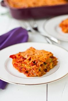 Vegan Lasagna with Basil Cashew Cheeze. I made this and it is SOOO good!  I was a bit skeptical, but it is now a favorite at our house!
