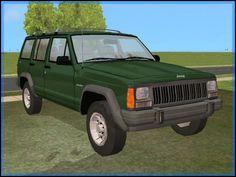 Fresh-Prince Creations - Sims 2 - Jeep Cherokee