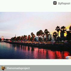 #ByRepost Geelong Waterfront #easternbeach #geelong #australia #summer #travel #tourist #travelgram #melbourne #beach #bay #view #reflections #sunset by macedonio04 http://ift.tt/1JtS0vo