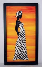 Resultado de imagen para moldes de negras africanas para pintar African Drawings, African Paintings, African Theme, African Art, Sun Painting, Painting & Drawing, Black Women Art, Black Art, Art Africain