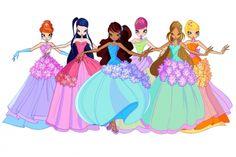 Винкс цветочные принцессы