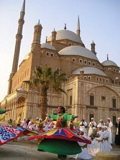 #Tannoura Troupe for Cultural Heritage (Mohammed Ali Mosque) in Cairo Egypt - Cairo Airport Car Rental offers culture tour in Cairo, Egypt for booking visit cairoairportcarrentals.com