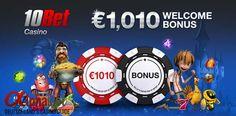10bet casino: €1010 Willkommensbonus! #Bons #Casino #Sportwetten