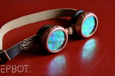 EPBOT: How To Make: Steampunk Goggles  (also has a DIY for a ray gun, if the need should arise)