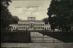 Oude zwart-wit fotobriefkaart Paleis Soestdijk