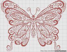 Butterfly cross stitch
