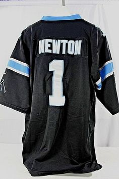 Carolina Panthers Cam Newton  1 Black Jersey Nike Onfield XXL Keep Pounding   e1452c625