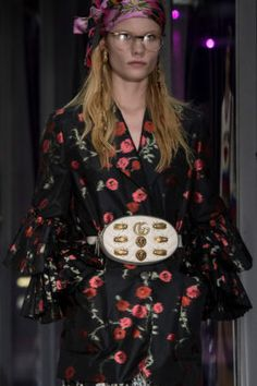 The Royal Tenenbaums, 2017 edition. #fashionweek #gucci