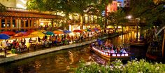 The Riverwalk San Antonio TX at the Marriott