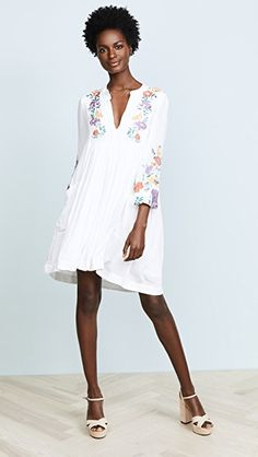4380ddce25a8 Free People Mia Gauze Embroidered Mini Dress | SHOPBOP Coast Outfit, Online  Dress Shopping,