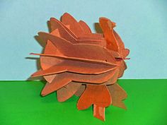 He Escaped Thanksgiving Dinner Sliceform, Kirigami, Card Templates, Pop Up, Turkey, Thanksgiving, Paper Crafts, Sculpture, Fall